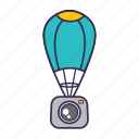 camera, capture, photo, space icon