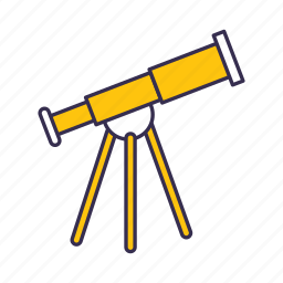 observatory, space, star, telescope icon