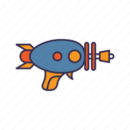 alien, gun, space, weapon icon