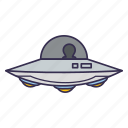 alien, space, spaceship, ufo icon