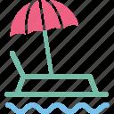 boat, cruise, ship, vessel icon