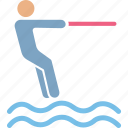 human, nautic, outdoor, person icon