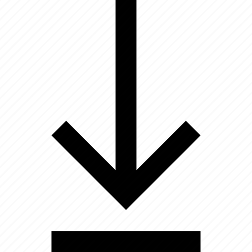 arrow, direction, down, download, file, upload icon