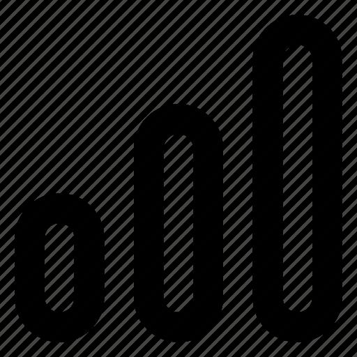 bar, graph, service, signal icon