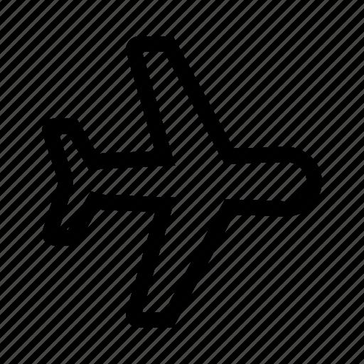 aircraft, aviation, flight, plane, travel icon