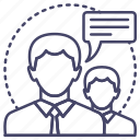 avatar, employee, skills icon