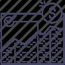 analysis, diagram, graph icon
