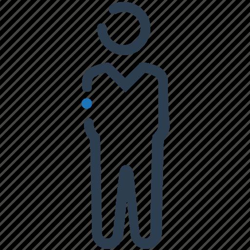 Businessman, user, man icon