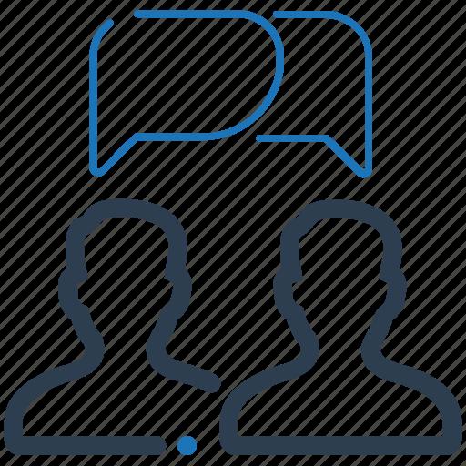 Conversation, discussion, talk icon - Download on Iconfinder