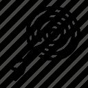 casino, dart, dartboard, gambling, target icon