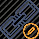 chain, connection, edit, link, url, web