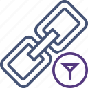 chain, connection, filter, link, url, web