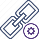 chain, connection, link, settings, url, web icon