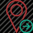 gps, location, map, marker, navigation, next, pin