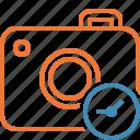 camera, clock, photo, photocamera, photography, picture, snapshot
