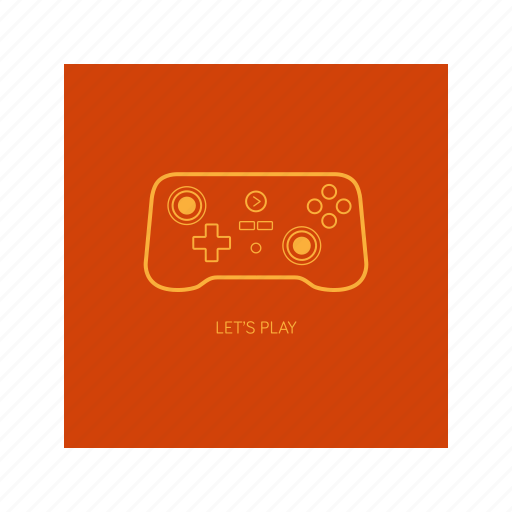 game, gamestick, outline, playstation, stick icon