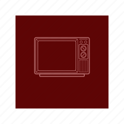 color, entertainment, outline, show, television, tv icon