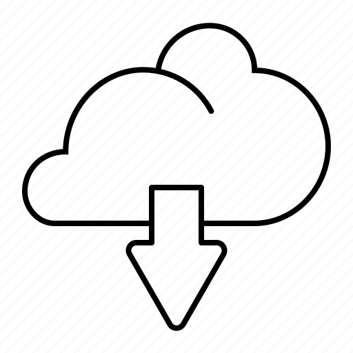 cloud, download, sharing icon