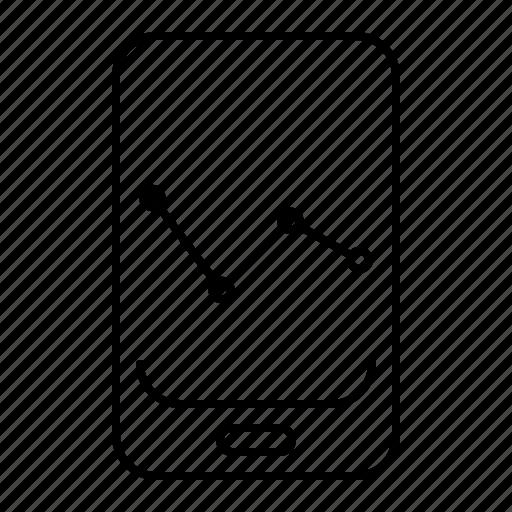 analytics, mobile seo icon