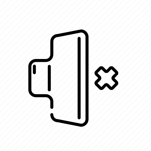 audio, media, mute, sound, volume icon