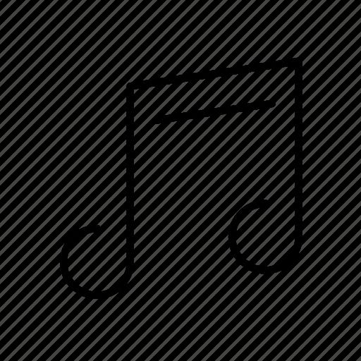 audio, media, note, sound, volume icon