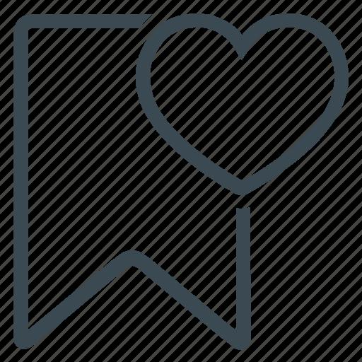 bookmark, favourite, mark icon