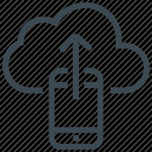 data backup, data storage, file sharing, mobile, sharing icon