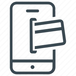 banking, credit card, mobile, mobile payment, pay, payment icon