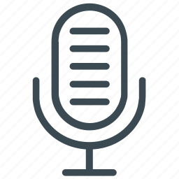 mic, microphone, speaker, speech, talk icon