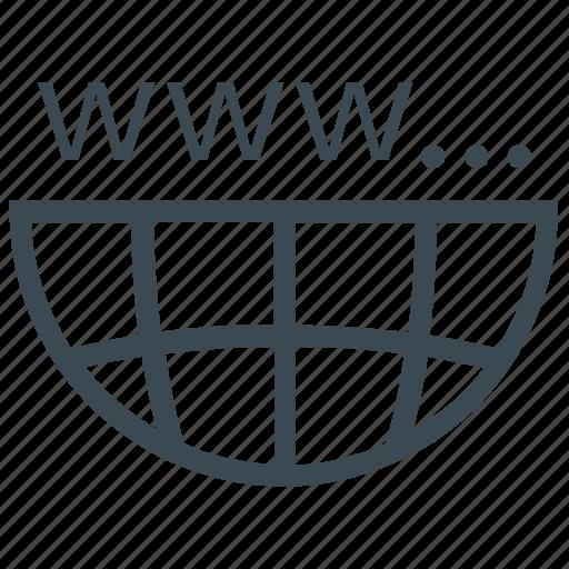 domain, http, url, website icon