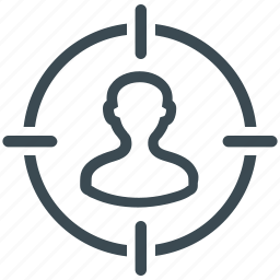 business, business goal, focus, goal, marketing, target icon