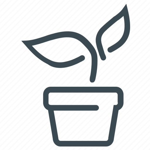 gardening, plant, potted plant icon