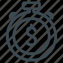 budget, deadline, deposit icon