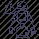 bot, droid, intelligence icon