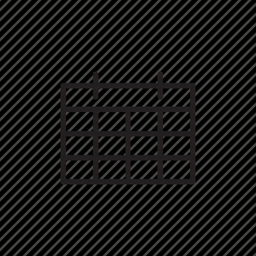 calendar, day, interface, month, ui, user, week, year icon