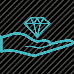 asset, care, handling icon