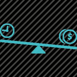 compare, competitive, evaluation icon