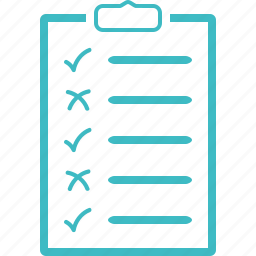 checklist, your plan icon