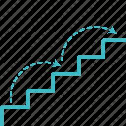 climb, your plan icon