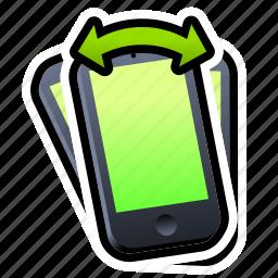 device, iphone, phone, shake, smartphone icon
