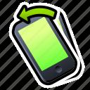 device, iphone, left, phone, smartphone, tilt