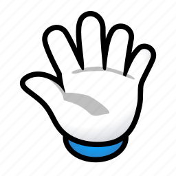 fifth, five, gesture, hand, signs icon