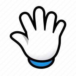 gesture, hand, open, signs icon