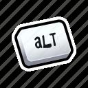 alt, keyboard, tutorial