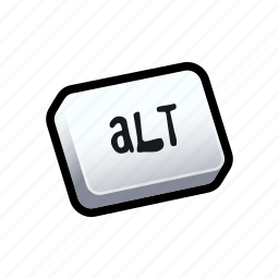 alt, keyboard, tutorial icon