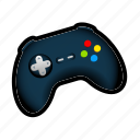 gamepad, joystick, tutorial icon