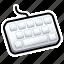 keyboard, tutorial icon