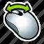 mouse, movement, shake, tutorial icon