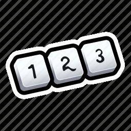 keyboard, numberpad, tutorial icon