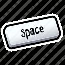 bar, keyboard, space, tutorial